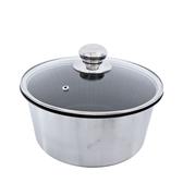 派樂 遠紅外線不沾十人份電鍋內鍋(23公分含玻璃鍋蓋) 正304不銹鋼不沾鍋 遠赤外線鍋 電鍋適用