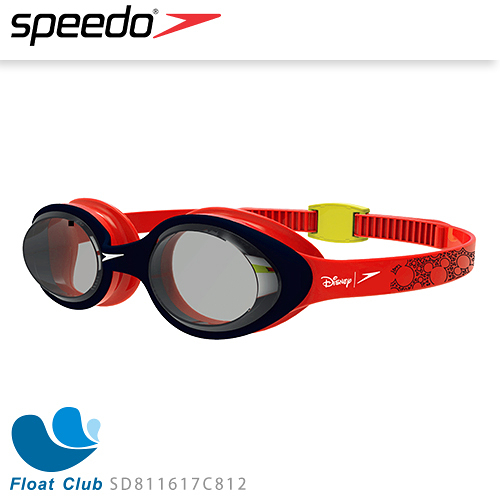 【SPEEDO】兒童運動泳鏡 Illusion 米奇 SD811617C812