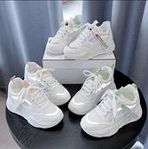 增高鞋 老爹鞋女鞋2020秋冬季新款休閒百搭厚底內增高小白運動鞋子