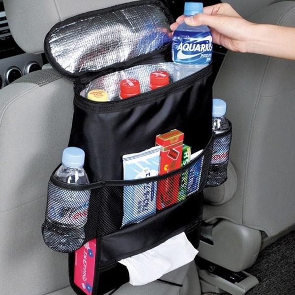 汽車座椅收納置物袋 保溫 車用 車用置物袋 雜物 掛袋 椅背 收納 掛袋