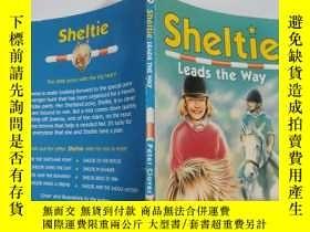 二手書博民逛書店sheltie罕見leads the way 謝爾蒂帶路Y200392