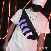 斜挎包男潮小包腰包女街頭嘻哈韓版男士背包學生單肩胸包 PA7047『男人範』