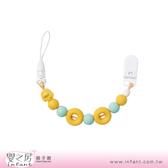 【嬰之房】PiyoPiyo黃色小鴨 夜光甜甜圈奶嘴鍊(綠)