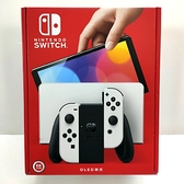 任天堂 Nintendo Switch OLED 款式 台灣公司貨 黑色 主機 白白 手把+ 隨機遊戲X1+玻璃貼