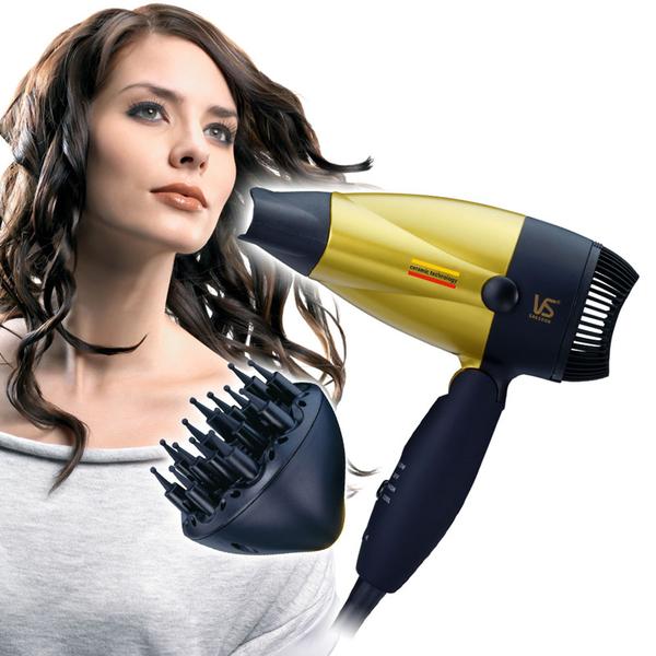 英國VS 沙宣1300W陶瓷摺疊吹風機 VS157RDRW