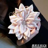 仙女包甜美百搭花瓣包晚宴包女手包立體花朵斜挎包水鉆手環包 遇見生活