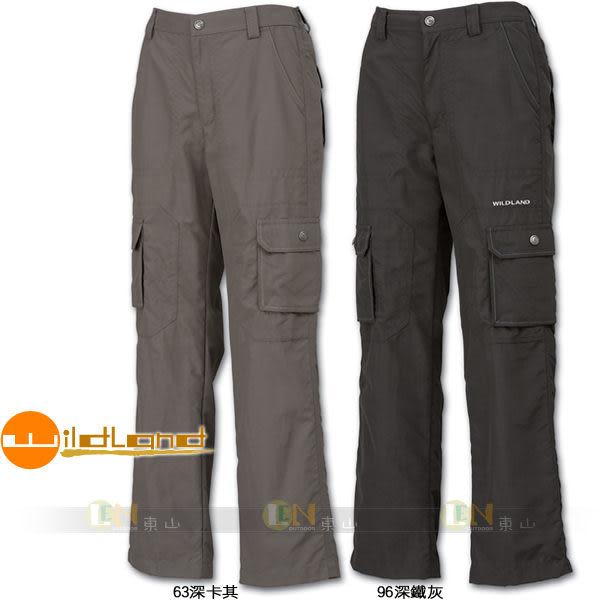 Wildland 荒野 81362-63深卡其 兒童 Supplex抗UV長褲(兩色) 吸濕快乾/抗紫外線/輕薄耐磨