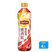 立頓茶佐茶無糖紅茶535MLx4【愛買】