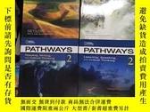 二手書博民逛書店英文原版罕見Pathways2+3全四冊:Reading, Writing, and Critical Think