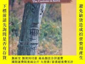 二手書博民逛書店FOLK-RELIGION:罕見THE CUSTOMS IN KOREA 英文原版 精裝32開 插圖本Y857