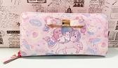 【震撼精品百貨】Little Twin Stars KiKi&LaLa 雙子星小天使~三麗鷗 雙子星長皮夾/手拿包-獨角獸#12954