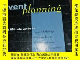 二手書博民逛書店Event罕見Planning: The Ultimate Gu