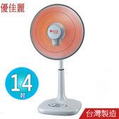 優佳麗14吋碳素電暖器 HY-614~台灣製造