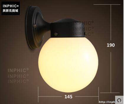 INPHIC- 北歐臥室陽臺壁燈床頭燈現代簡約客廳創意過道牆燈led鐵藝鏡前燈-E款_S197C