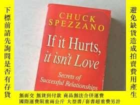 二手書博民逛書店chuck罕見spezzano if it hurts, it isn t loveY447092 chuck