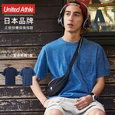 日本品牌 United Athle 3991 丹寧藍染口袋素面T恤 2色 5.3 oz【UA3991】