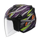 SOL安全帽,27S,幻境/消光黑紫...