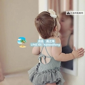 小孩泳衣 兒童泳衣女童可愛女孩分體公主連體泳裝嬰兒寶寶 風之海