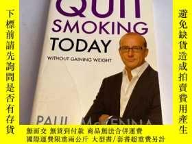 二手書博民逛書店Quit罕見Smoking Today without Gaining WeightY26171 MCKENN