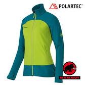 【MAMMUT 長毛象】女 Polartec® Themal Pro 耐磨外套 綠 1010-17870
