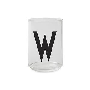 Design Letters 字母玻璃杯 W
