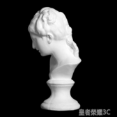 雕像 綜美石膏像小維納斯頭像H40CM素描石膏寫生練習石膏像 美術石膏教具 美院硬模石膏像YTL