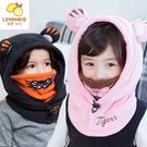 韓版兒童老虎造型護頸套頭連帽...