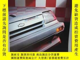 二手書博民逛書店1986年罕見Chevrolet 雪佛蘭 Sprint 汽車 車