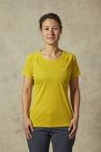 [好也戶外]Rab Women's Pulse SS Tee 短袖排汗衣 硫磺/寧靜藍/烏木灰/乳薊紫