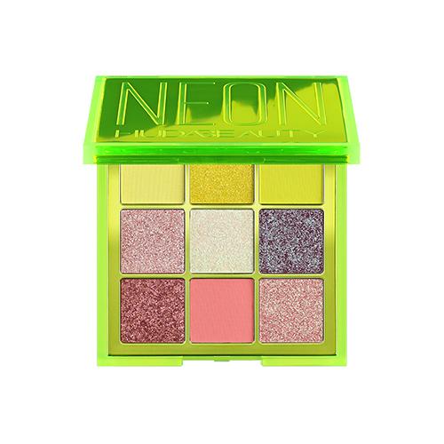 HUDA BEAUTY 霓虹系列 9色眼影盤#NEON GREEN 9x1.1g 絢麗斑斕色彩《小婷子》