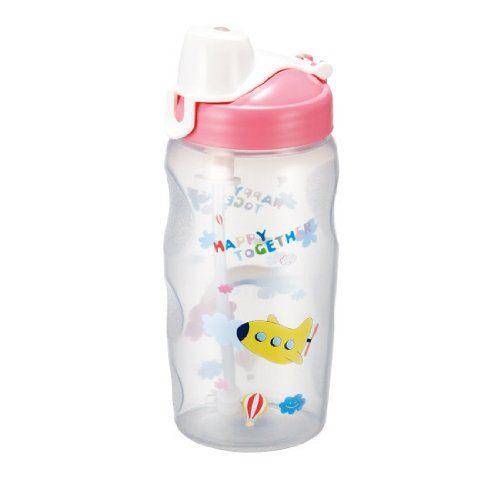 樂扣樂扣彩繪兒童水壺350ml附吸管兒童水杯-大廚師百貨