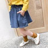 女童牛仔裙2019夏季新款韓版牛仔洋氣休閒寶寶半身裙子 QW3860『夢幻家居』