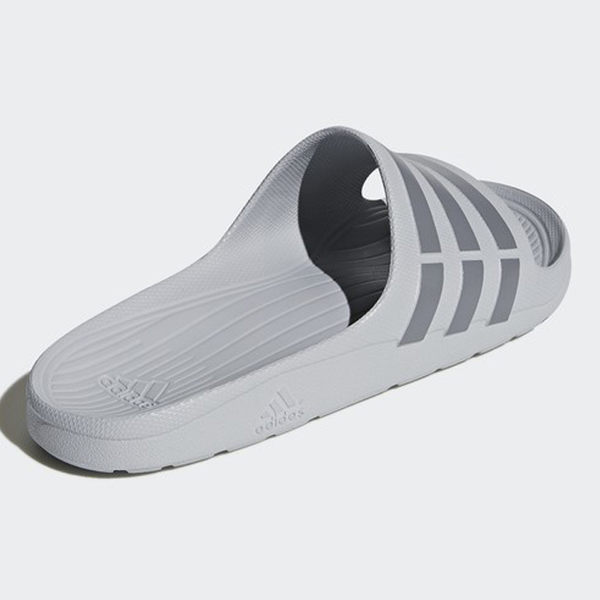 ★現貨在庫★ Adidas Duramo Slide 男鞋 女鞋 拖鞋 防水 海灘 一體成形 灰【運動世界】 B44298