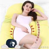 Tomibaby孕婦枕頭護腰側睡枕O形多功能睡覺托腹枕孕u型枕抱枕用品QM 美芭