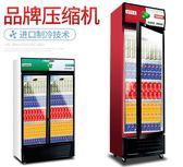 冰櫃 飲料櫃超市啤酒冰箱立式冰櫃商用單雙門水果保鮮櫃展示櫃冷藏 igo 歐萊爾藝術館