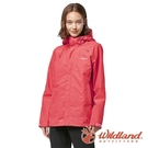 『VENUM旗艦店』【wildland 荒野】女 輕薄防水高透氣機能外套『珊瑚紅』W3913
