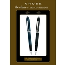 CROSS Townsend 濤聲系列歐巴馬總統就職典禮紀念筆款子夜藍鋼珠筆 695-1