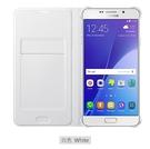 【吊卡盒裝】Samsung Galaxy A7 2016 原廠翻頁式皮套 (白)