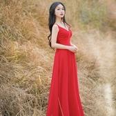 長洋裝 波西米亞風-高貴優雅宴會時尚女連身裙73mw10【巴黎精品】