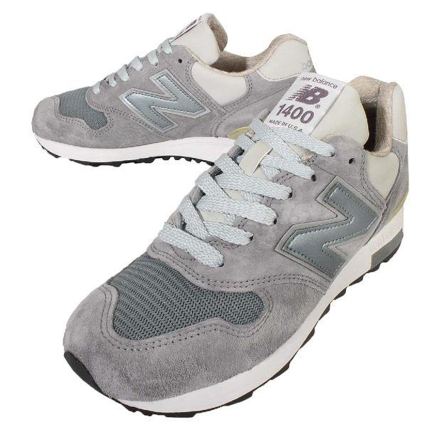 New Balance 休閒慢跑鞋 M1400 灰白 美國鞋 美製鞋 運動 休閒 女鞋小尺碼 男鞋【PUMP306】 M1400SBD