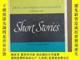 二手書博民逛書店Short罕見Stories: Prose and Poetry