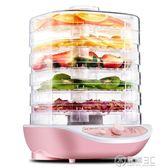 220V果機家用食品烘干機水果蔬菜寵物肉類食物脫水風干機小型WD 電購3C
