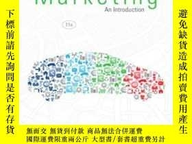 二手書博民逛書店Marketing:罕見An Introduction (11t