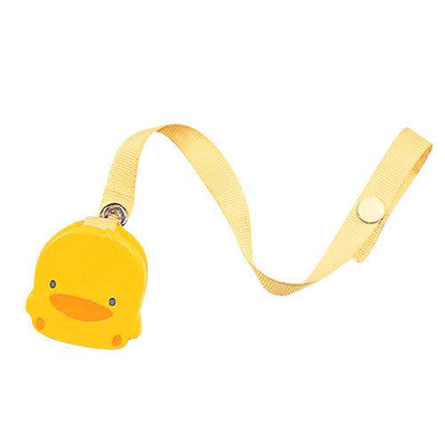 【奇買親子購物網】黃色小鴨造型奶嘴鍊