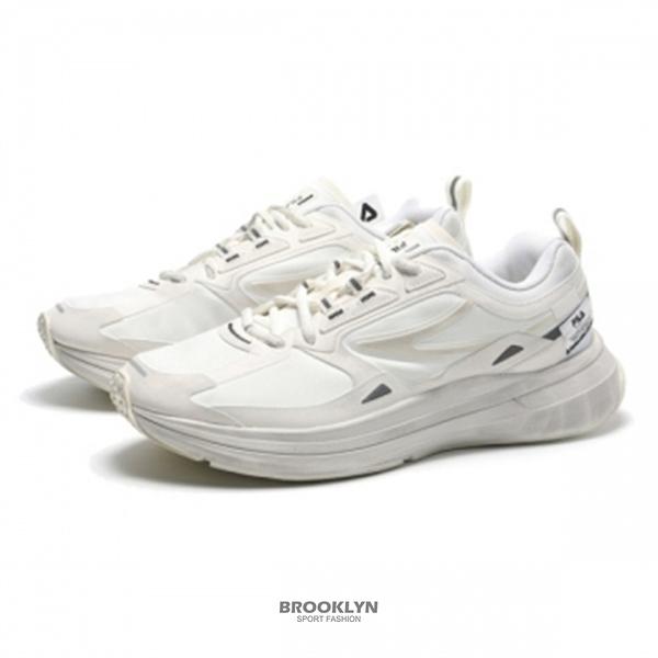 FILA x BTS PROJECT 7 CURVELET 全米白 仿舊 復古 情侶款 休閒鞋 男女 (布魯克林) 4J538U920