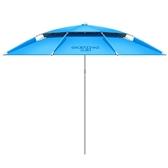 釣魚傘大釣傘地插加厚萬向雙層防雨風防曬遮陽傘垂釣漁傘
