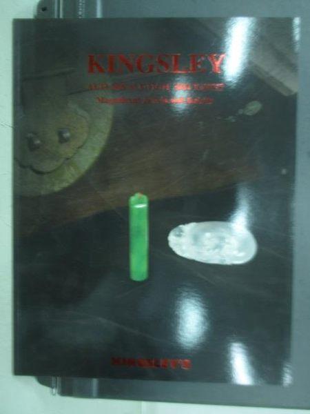 【書寶二手書T9/收藏_QNX】Kingsley Autumn Auction 2011 Taipei