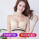 哺乳內衣喂奶聚攏有型懷孕期薄款上托胸罩無鋼圈孕婦文胸zzy5709『美鞋公社』