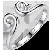 純銀緊箍咒戒指男士女情侶對戒金箍悟空金箍棒至尊寶尾戒個性 蓓娜衣都