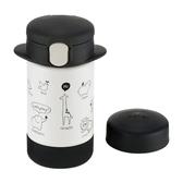 Richell利其爾 - 2way 隨身型不鏽鋼保溫杯 160ml 俏皮黑